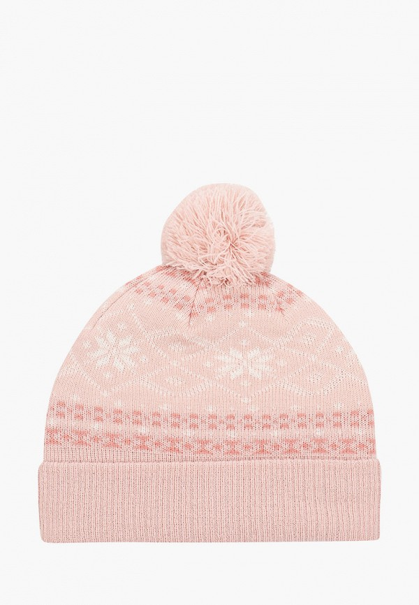 женская шапка o'stin, розовая