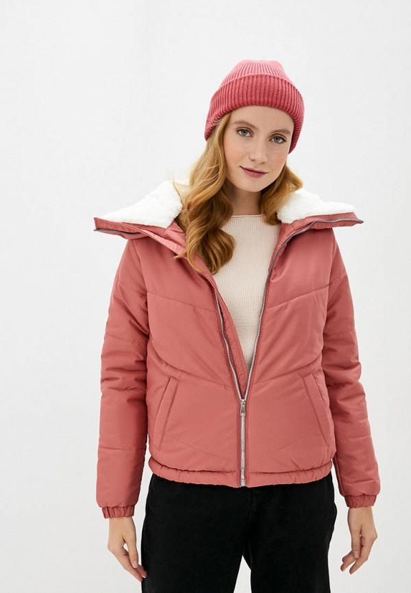 женская куртка defacto, розовая