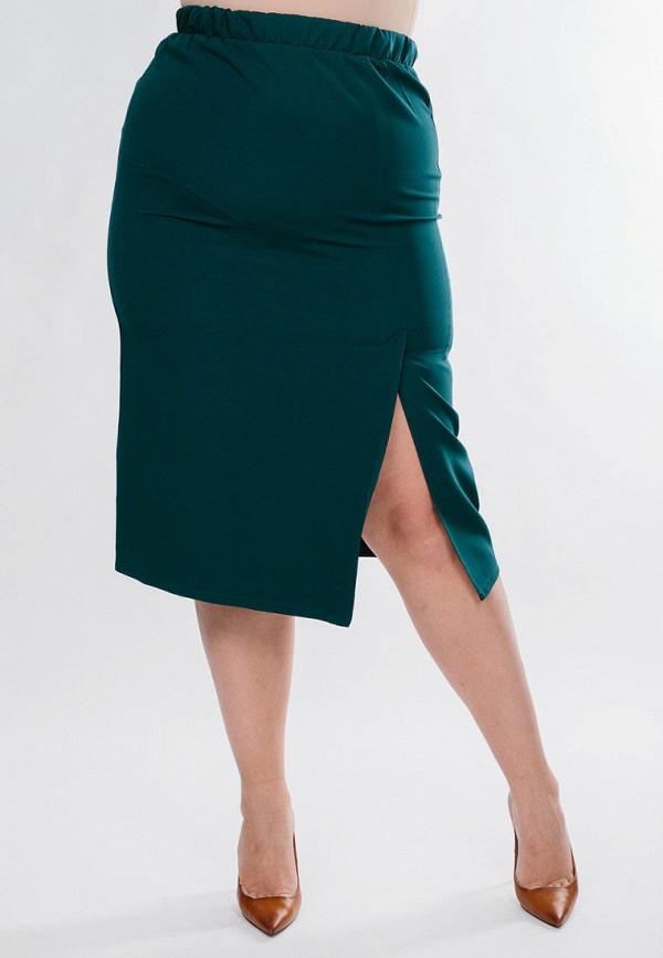 женская прямые юбка jp, зеленая