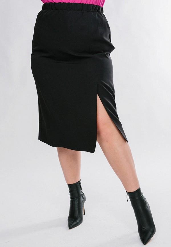 женская прямые юбка jp, черная