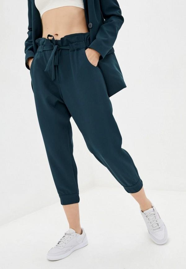 женские повседневные брюки sfn, бирюзовые