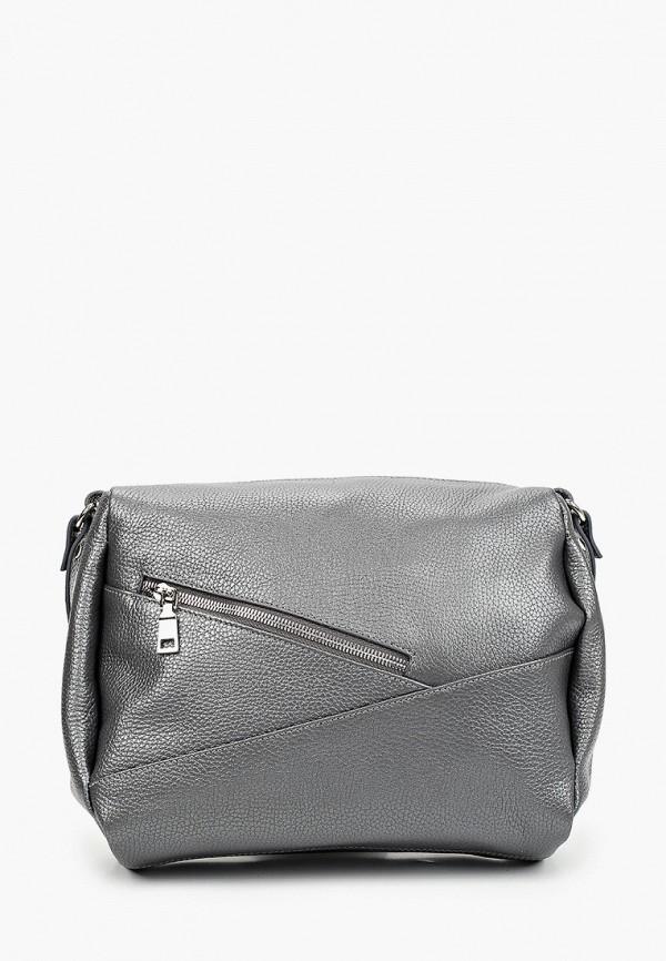 женская сумка через плечо ralf ringer, серая
