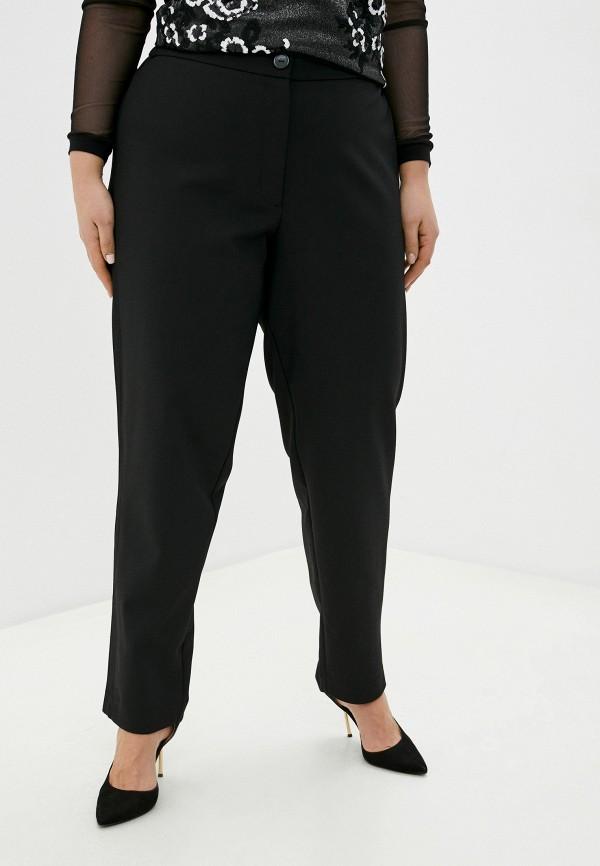 женские зауженные брюки averi, черные