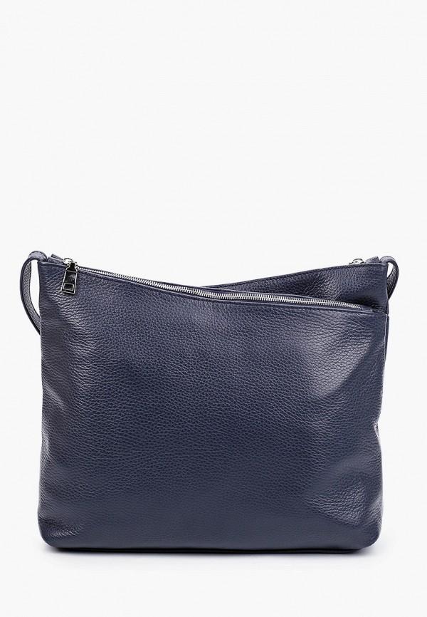 женская сумка через плечо ralf ringer, синяя