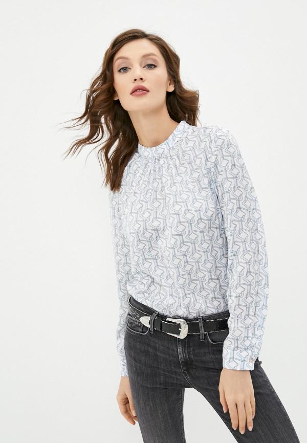женская блузка с длинным рукавом concept club, белая