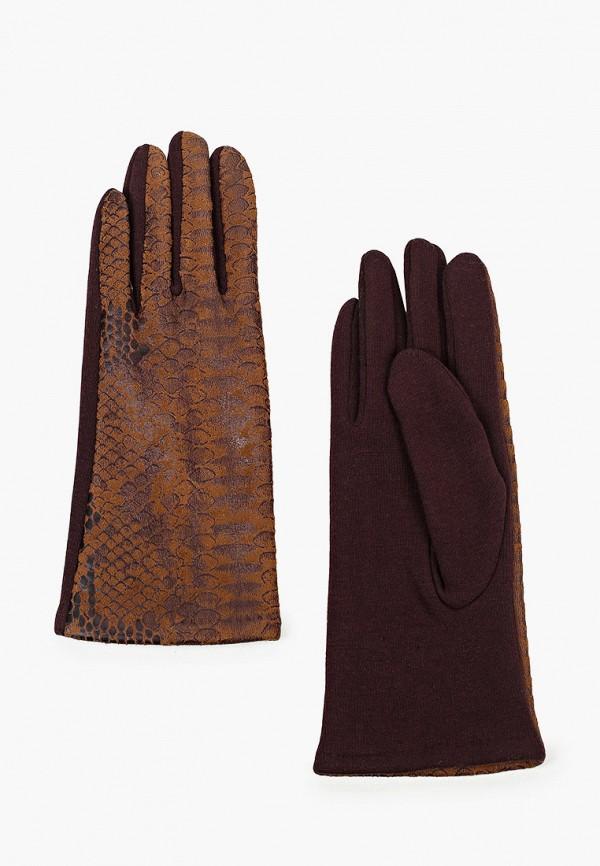 женские кожаные перчатки модные истории, коричневые