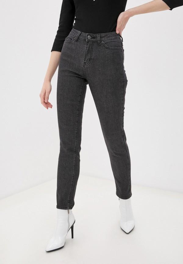 женские джинсы скинни fine joyce, серые