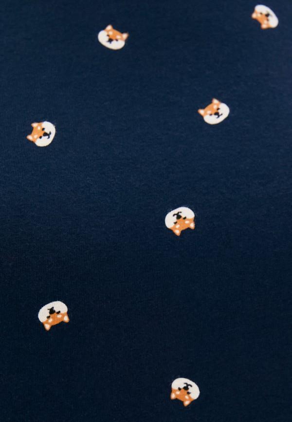 Футболка Befree цвет синий  Фото 3