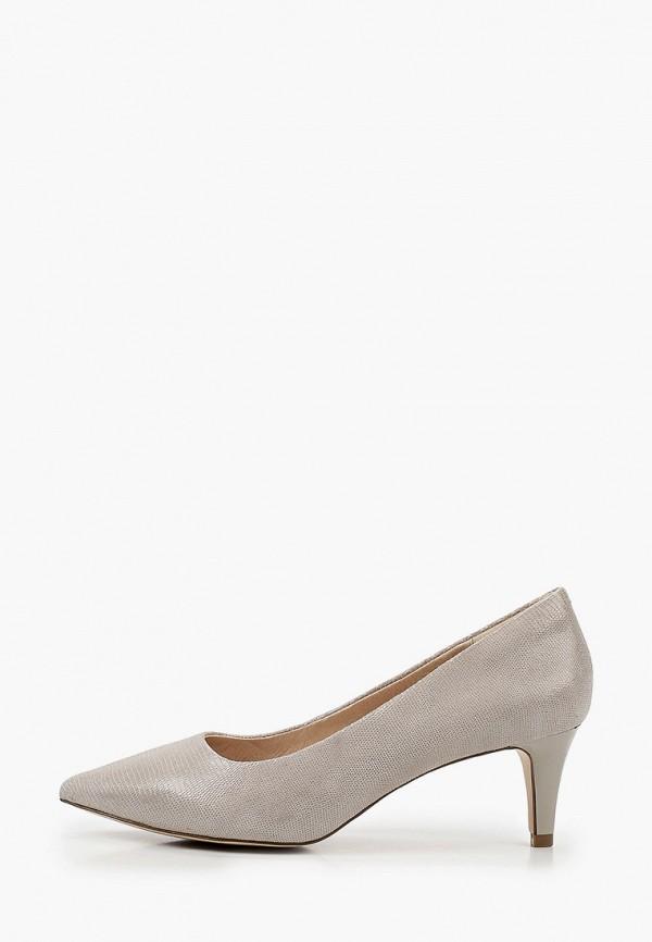 женские туфли-лодочки ralf ringer, серые