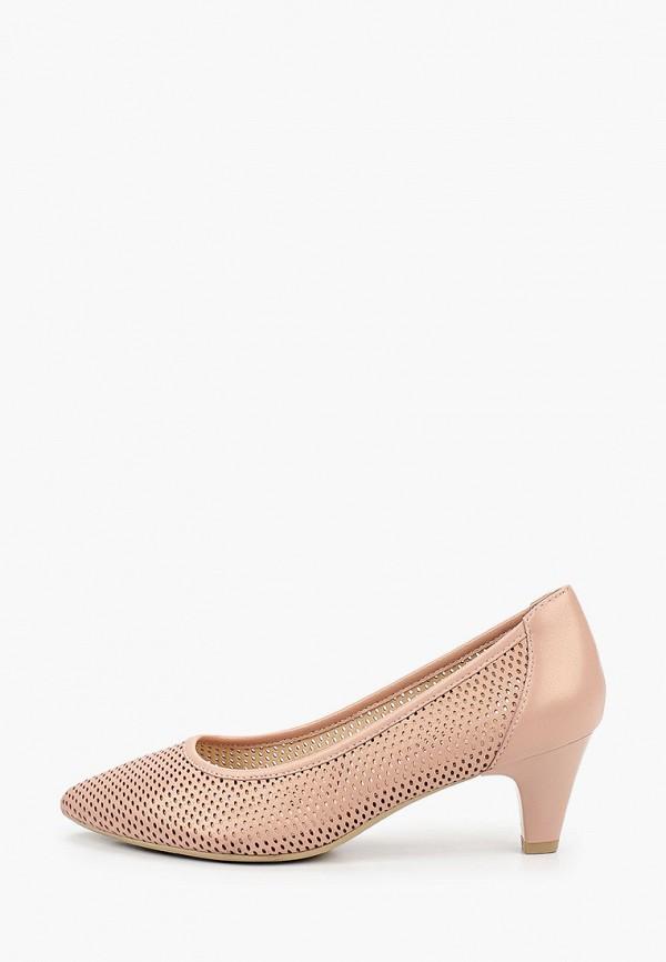 женские туфли с закрытым носом ralf ringer, розовые