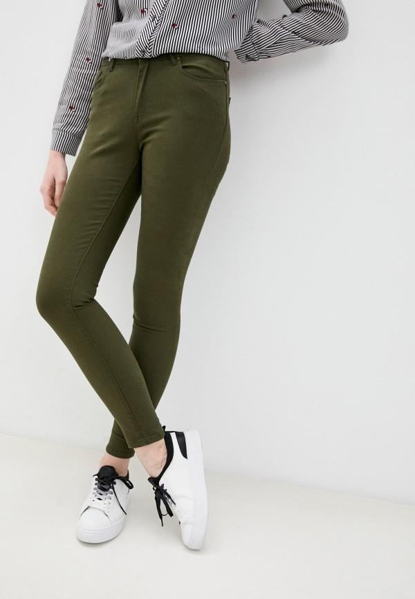 женские повседневные брюки colin's, хаки