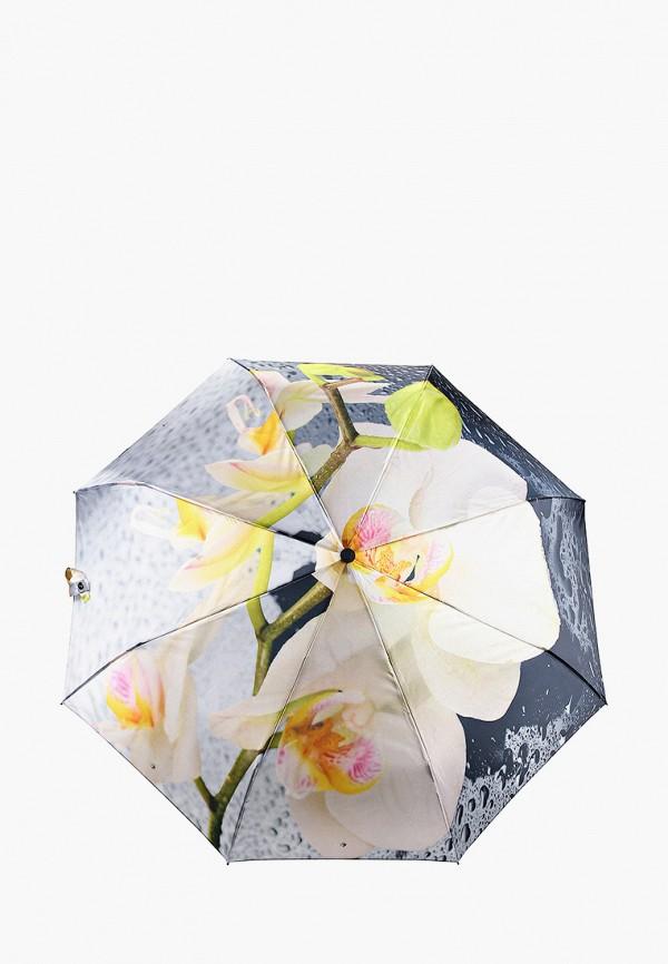 женский складные зонт flioraj, разноцветный