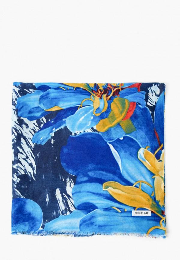 женский палантин finn flare, синий