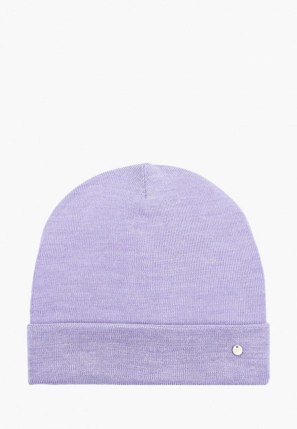 женская шапка coompol, фиолетовая