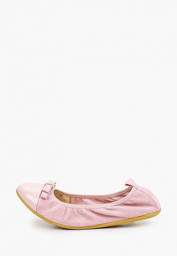 женские балетки valley, розовые
