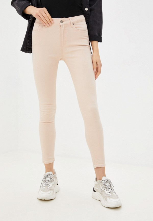 женские повседневные брюки colin's, розовые