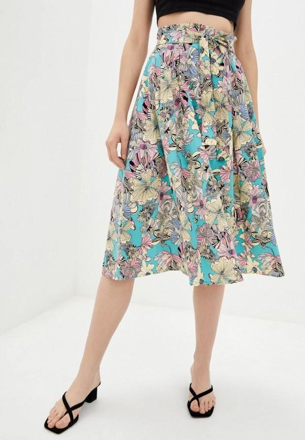 женская юбка ora, разноцветная