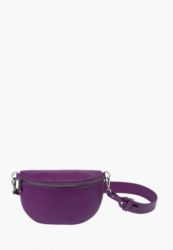 женская сумка через плечо igor york, фиолетовая