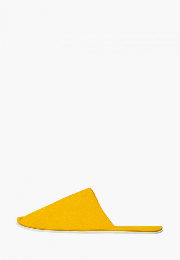 женские тапочки amaro home, желтые