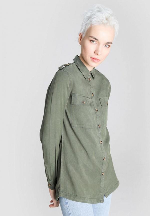 женская блузка o'stin, зеленая