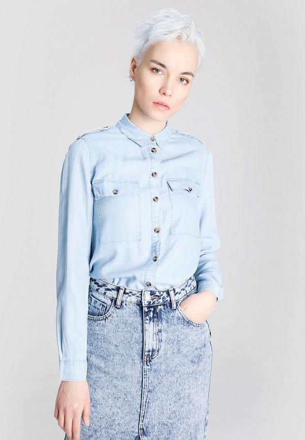 женская блузка o'stin, голубая