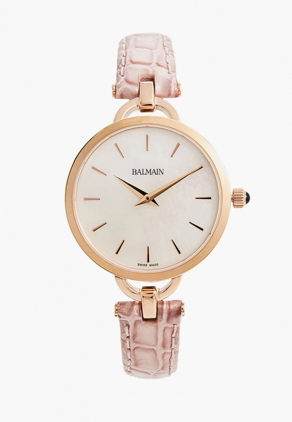 женские часы balmain, розовые
