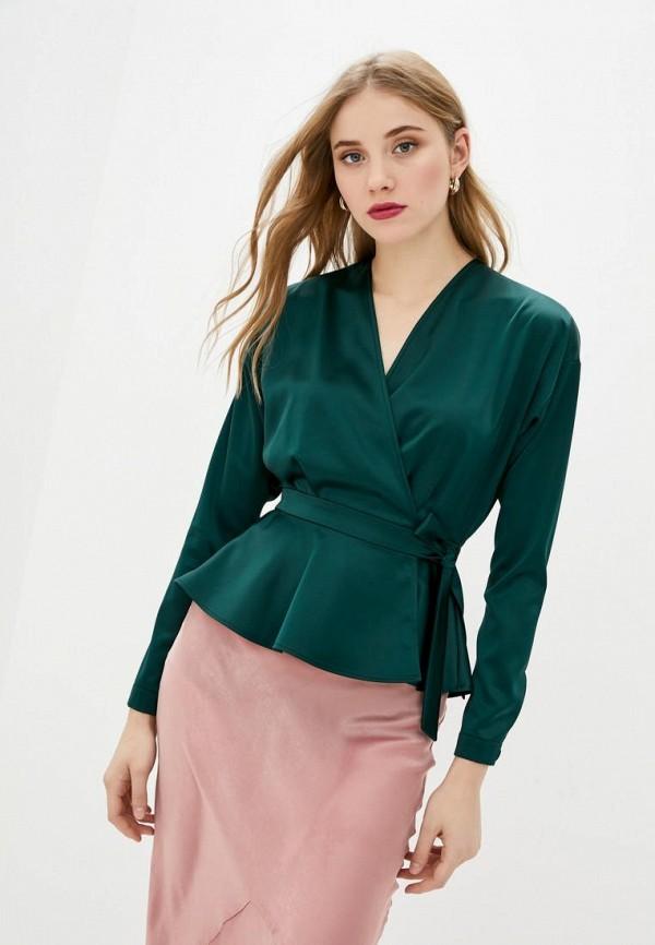 женская блузка bgl, бирюзовая
