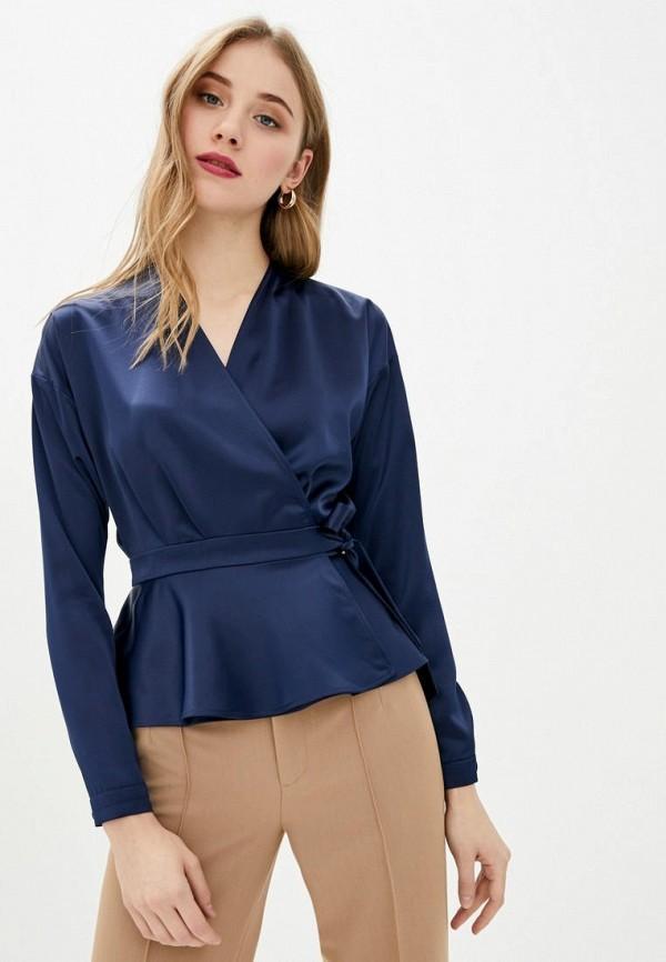 женская блузка bgl, синяя