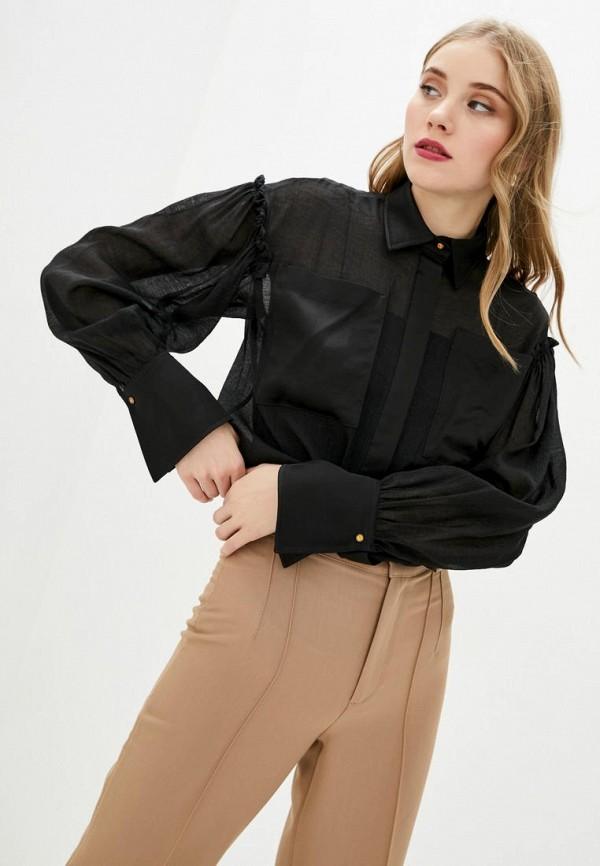 женская блузка bgl, черная