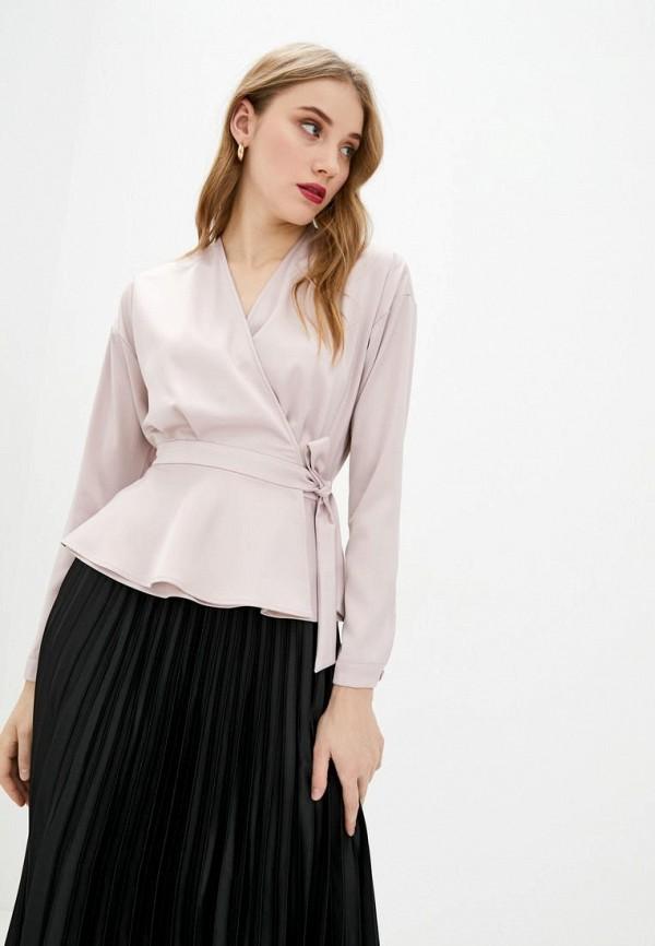 женская блузка bgl, бежевая