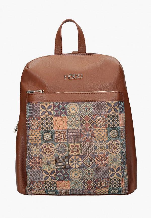 женский рюкзак nobo, коричневый