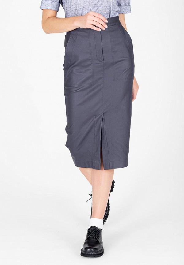 женская узкие юбка eliseeva olesya, синяя