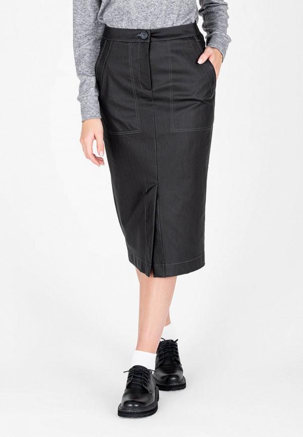 женская узкие юбка eliseeva olesya, черная