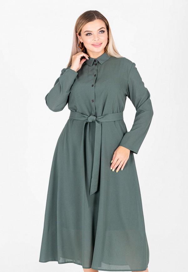 женское платье-рубашки eliseeva olesya, зеленое