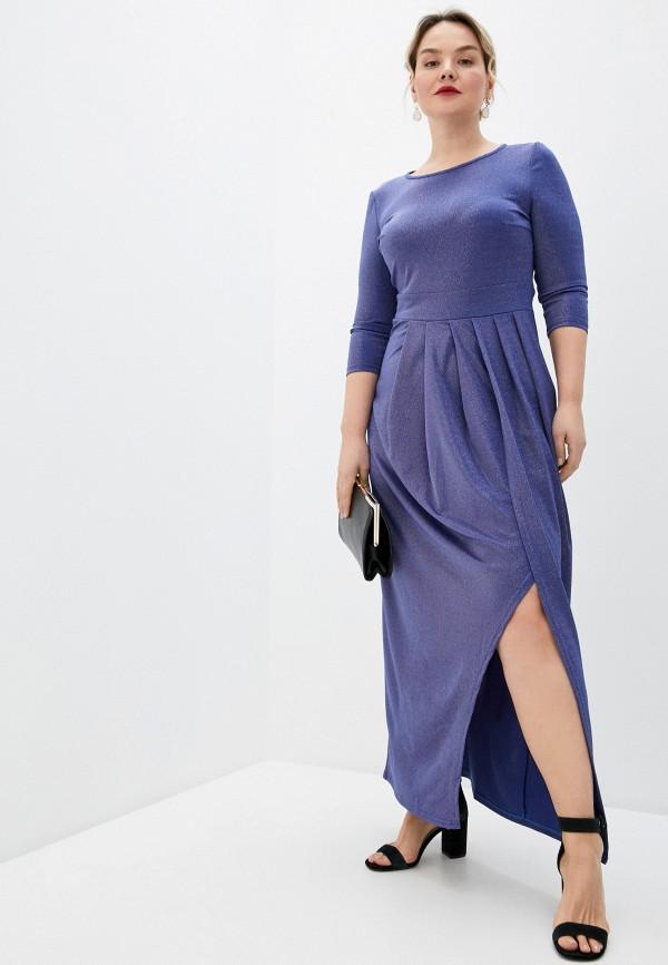 женское вечерние платье sparada, синее