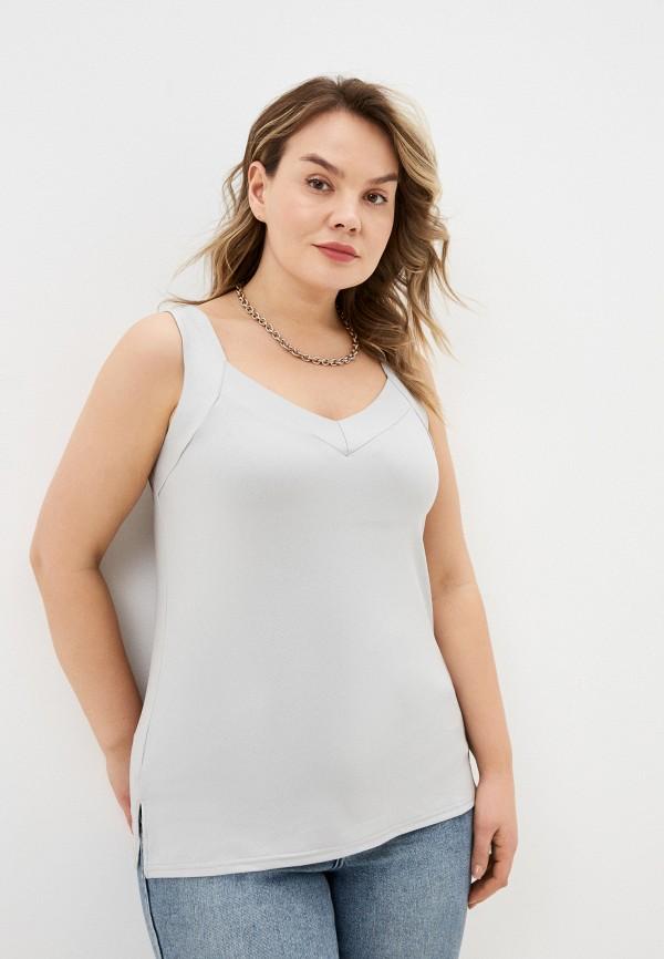 женский топ sparada, серый