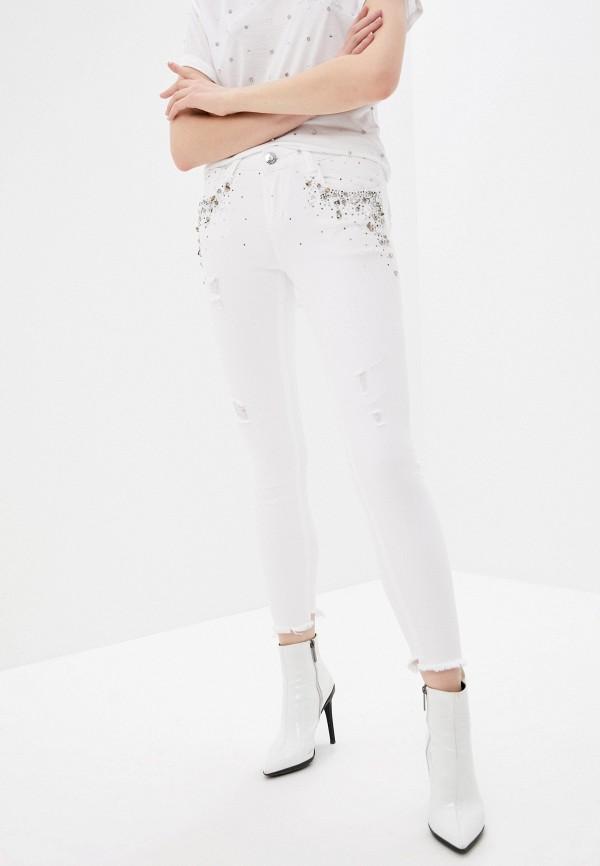 женские джинсы скинни dshe, белые