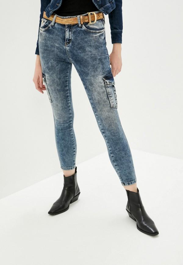 женские джинсы скинни dshe, синие