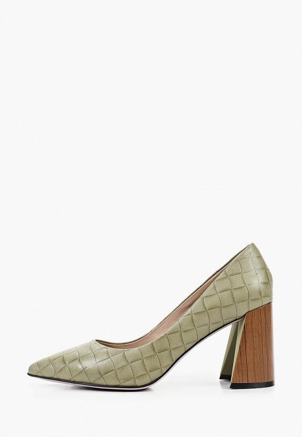 женские туфли с закрытым носом graciana, хаки