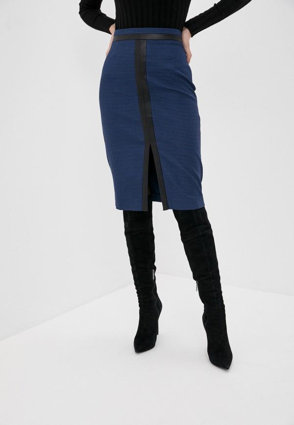 женская прямые юбка arianna afari, синяя