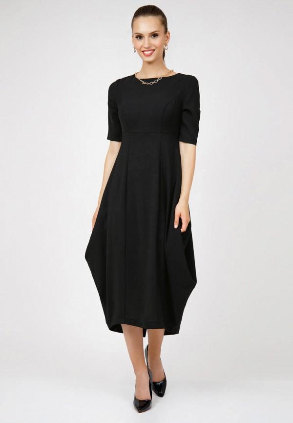 женское повседневные платье grey cat, черное