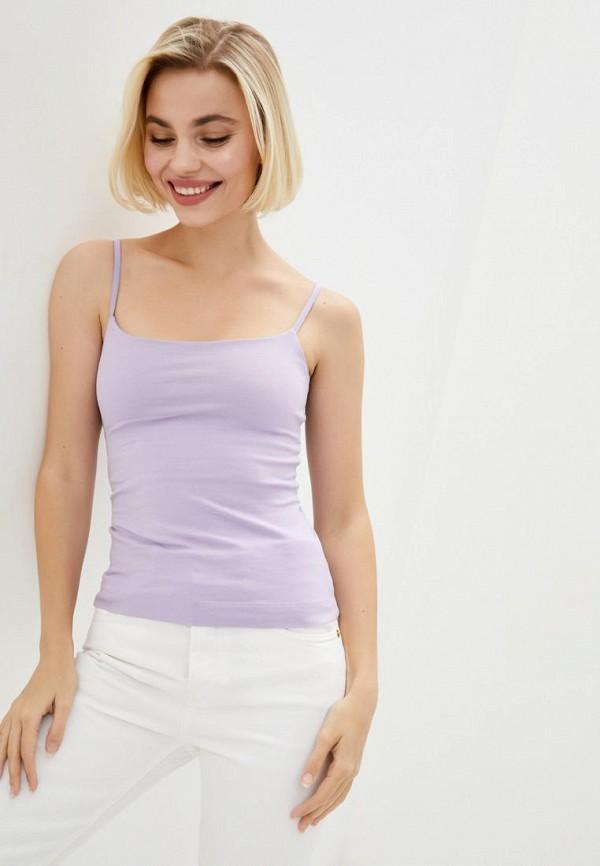 женская майка promin, фиолетовая