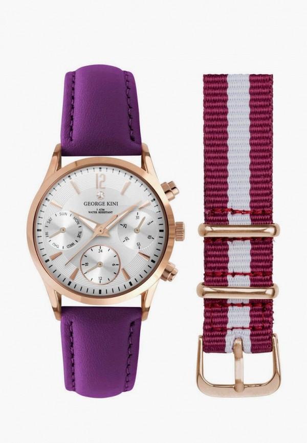 женские часы george kini, фиолетовые