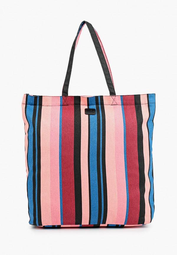 женская сумка с ручками brunotti, разноцветная