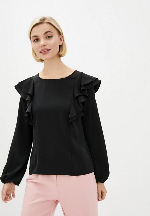 женская блузка zubrytskaya, черная