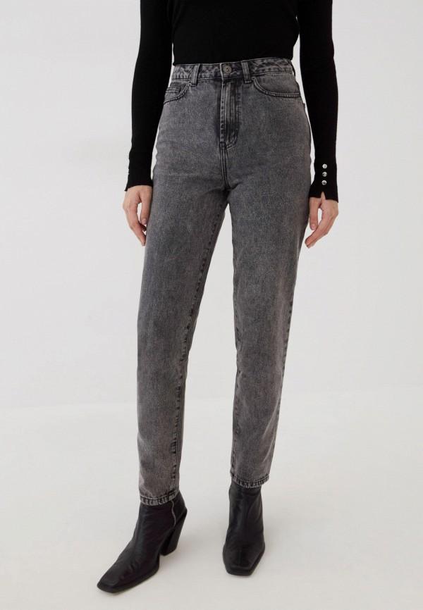 женские джинсы скинни zarina, серые