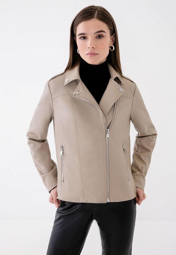 Куртка кожаная Zarina