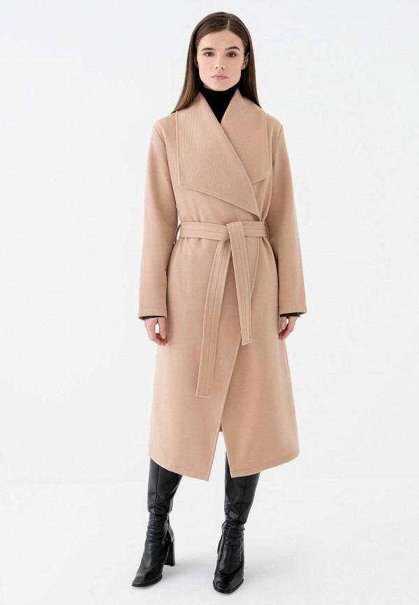 женское пальто zarina, бежевое