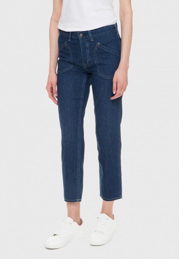 женские прямые джинсы polo ralph lauren, синие