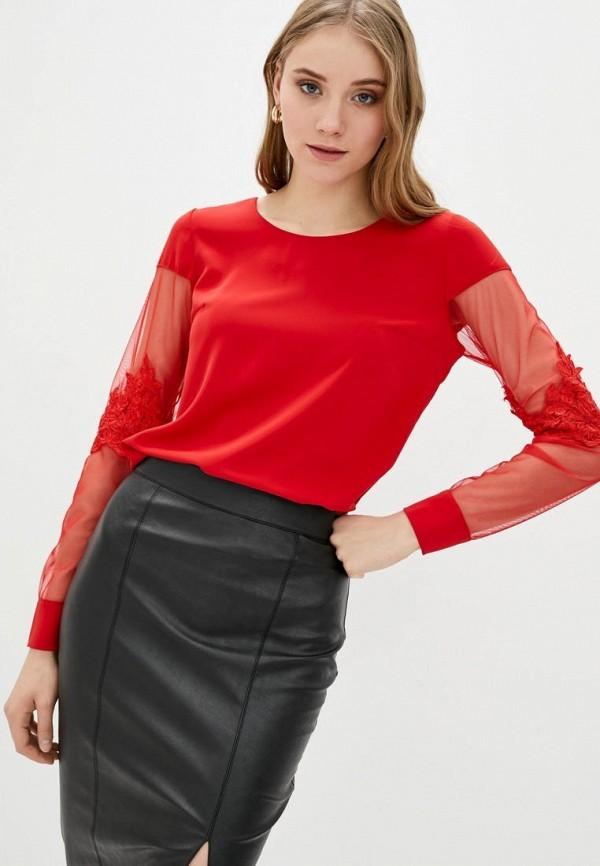 женская блузка zubrytskaya, красная